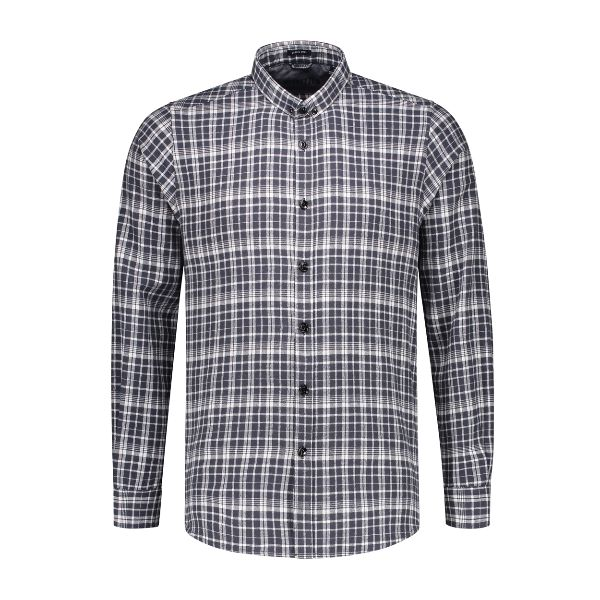 Shirt small button down Western Check Flannel
