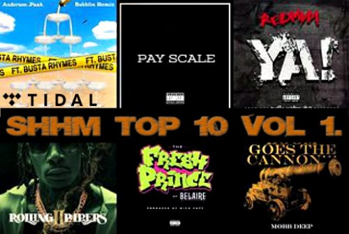 SHHM Top 10 Vol 1. (Playlist)