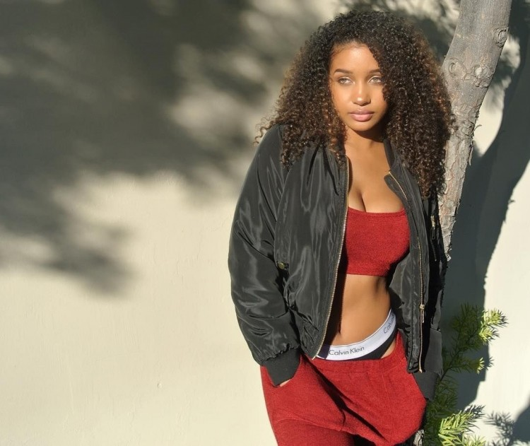 SHHM Eyecandy: Icon Swimsuit Model Corie Rayvon