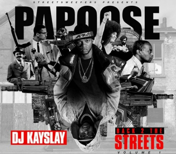 "Papoose Joins Dj Kay Slay On New Mixtape ""Back 2 The Streets"""