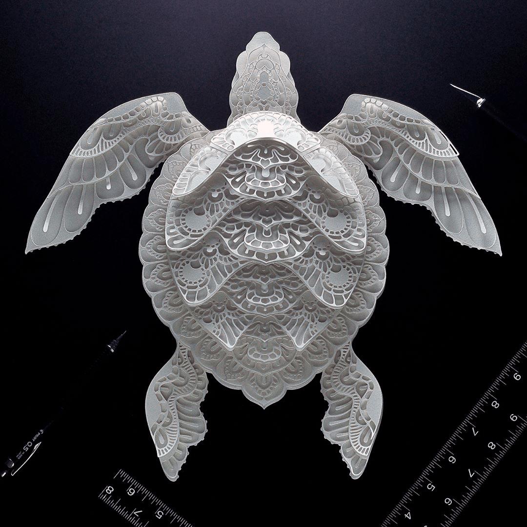 Gorgeous Endangered Species Series In Cut Paper Brings