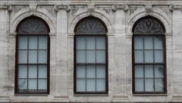 Dolmabahçe windows