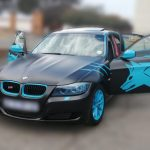 Bmw Black Blue Wolf Wrap Strictly Smart Signs
