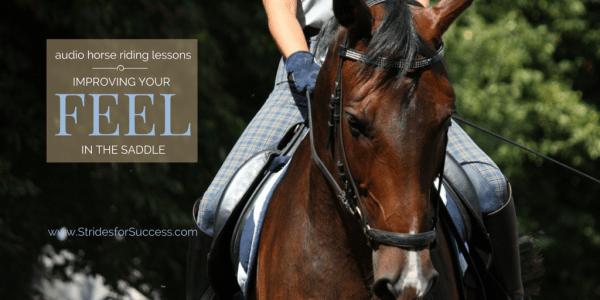 Developing Your Feel in the SAddle