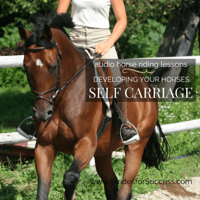 Developing Your Horses Self Carriage