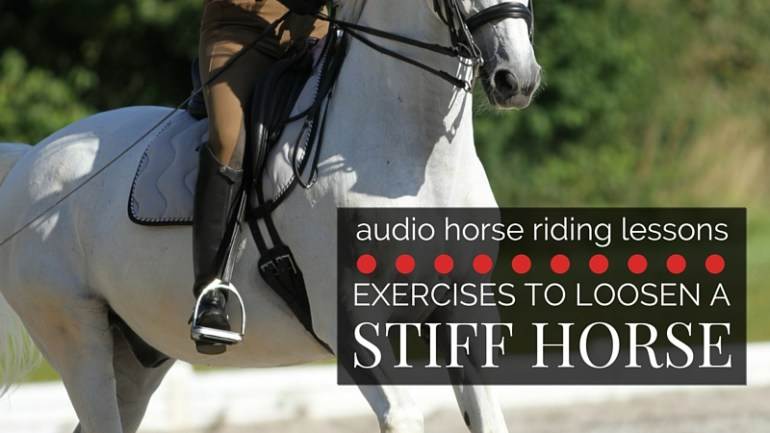 Exercises to Help Loosen a Stiff Horse