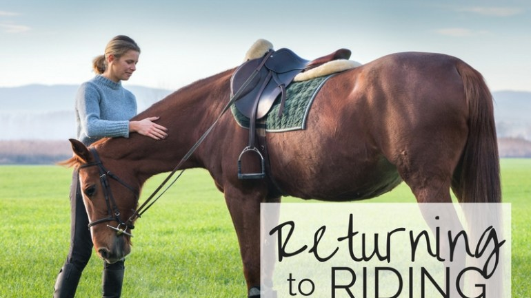 Returning to Riding – Great Expectations…