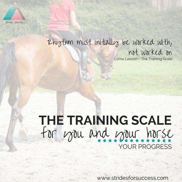 The Training Scale for You and Your Horse