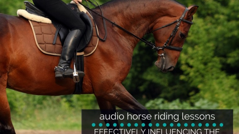 Using Your Body to Effectively Influence the Canter