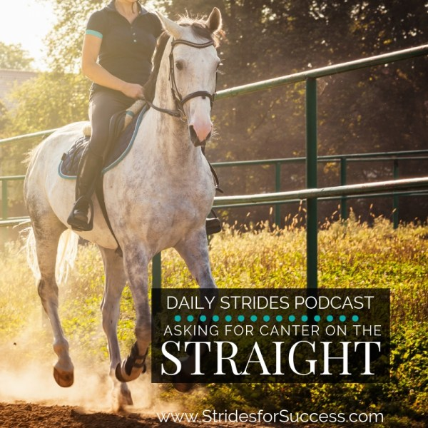Asking for the Correct Canter Lead when on the Straight