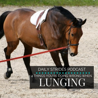 4 Things You're Doing Wrong When Lunging