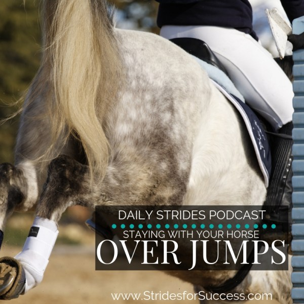 Staying with Your Horse Over Jumps
