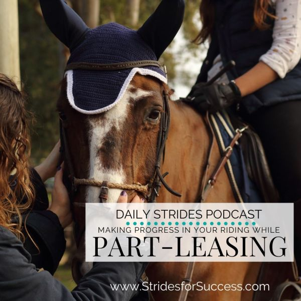 Making Progress while Part Leasing or Renting a Horse