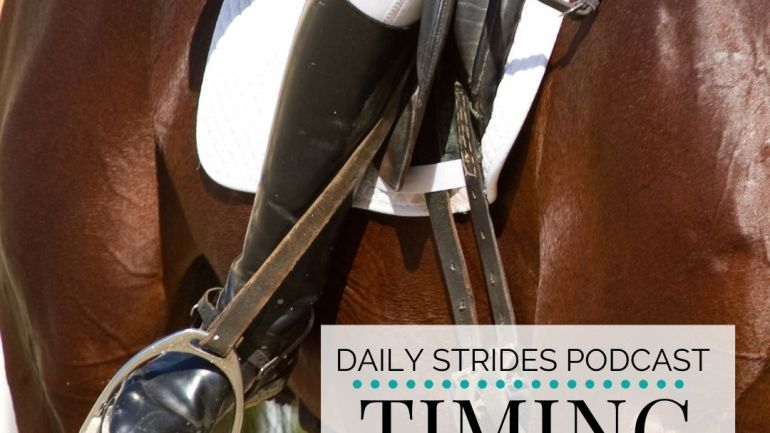 Timing Your Transition into Canter