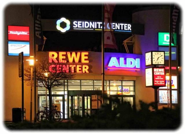 Reanimiert: Das Seidnitz-Center Dresden. Foto: Heiko Weckbrodt