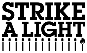 Strike A Light logo