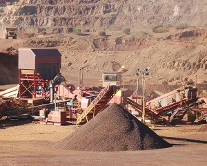 MAX Plant by Striker Australian Iron Ore mine