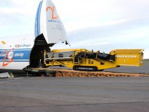 Striker Crusher Air freight to Mongolia