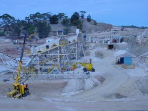 Striker Crushing & Screening Fixed Plant South Australia