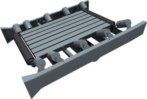 Striker Crushing and Screening – Conveyor belt impact bed