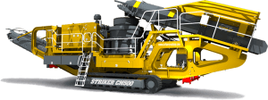 Striker Mobile Cone Crusher CM500 3D