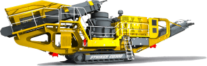 Striker Mobile Cone Crusher CQ300 3D