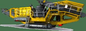 Striker Mobile Cone Crusher CQ400 3D