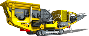 Striker Mobile Impact Crusher HQ1112 3D