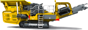 Striker Mobile Impact Crusher HQ907 3D