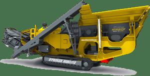 Striker Mobile Impact Crusher HQR1312 3D