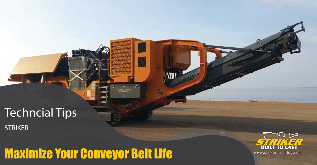 How to protect your conveyor belt from early failure