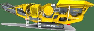 Striker Mobile Jaw Crusher JQ1170 3D