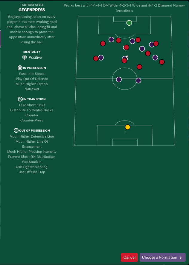 Creating a new hybrid style with FM19's new interface