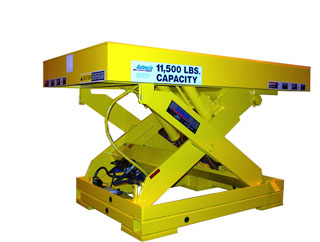 double pantograph lift