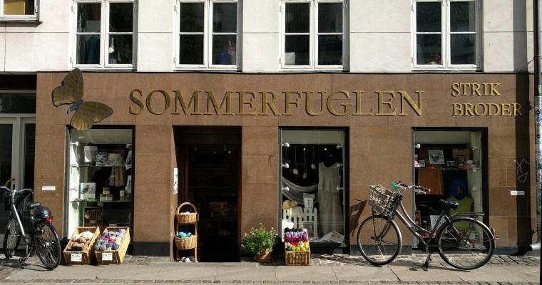 Garnforretninger i København