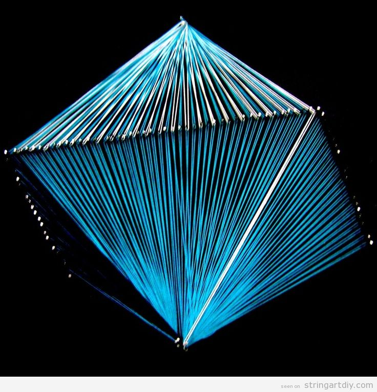octahedron string art string art diy free patterns and templates to make your own string art. Black Bedroom Furniture Sets. Home Design Ideas