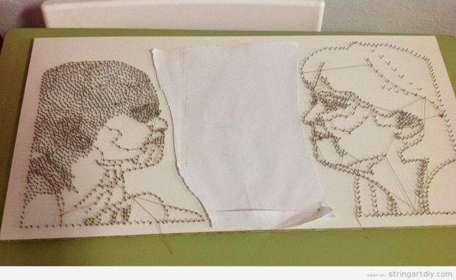 Nail And Thread Artists Art Ideas