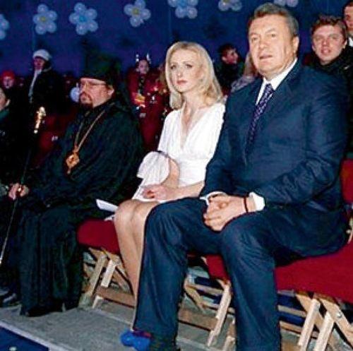 Жены и любовницы Виктора Януковича