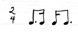 HU rhythm