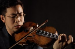violinist Paul Huang performs on Guarneri del Gesu