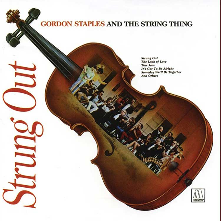 Gordon Staples and the String Thing, Strung Out album cover
