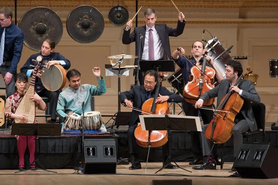 Members of the Silk Road Ensemble