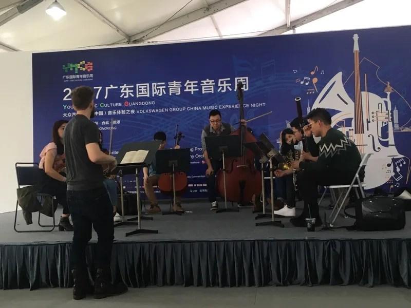 Violinist and Silk Road member Johnny Gandelsman leads a chamber-music workshop.