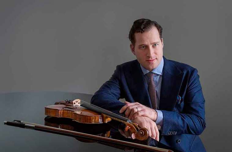 Nikolaj Znaider violinist conductor