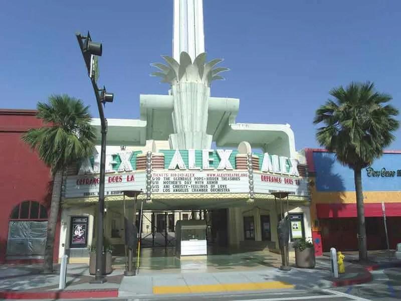 Los Angeles venue the Alex Theatre