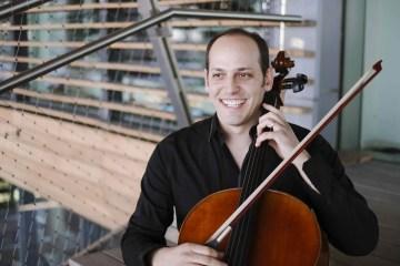 Cellist Mike Block