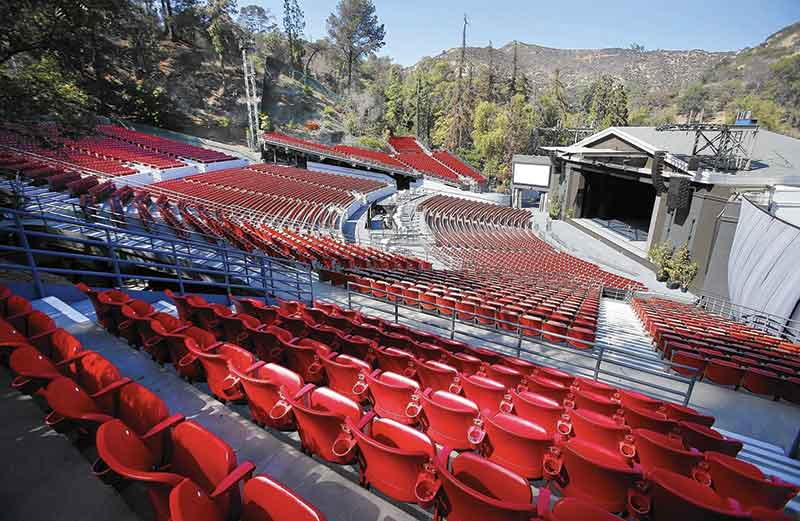 :os Angeles venue the Greek Theatre