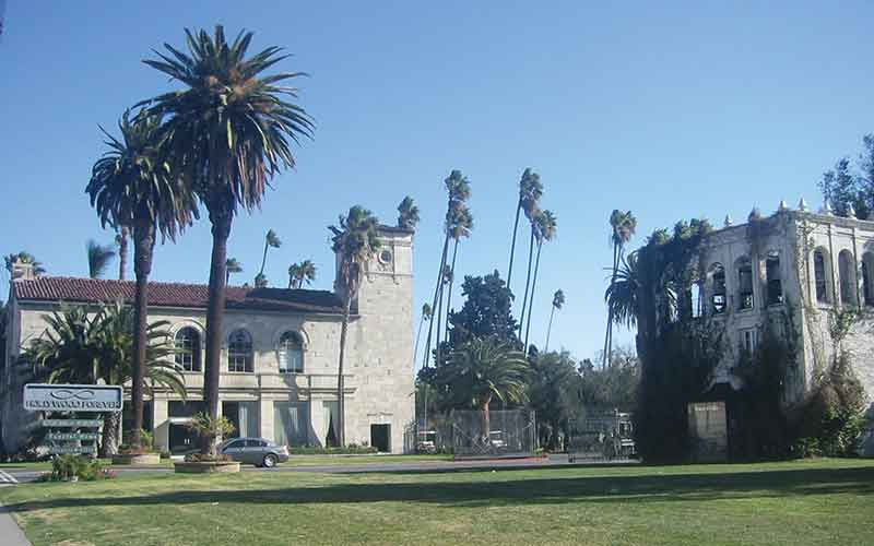 Los Angeles music venue the Masonic Lodge/Hollywoood Forever cemetery