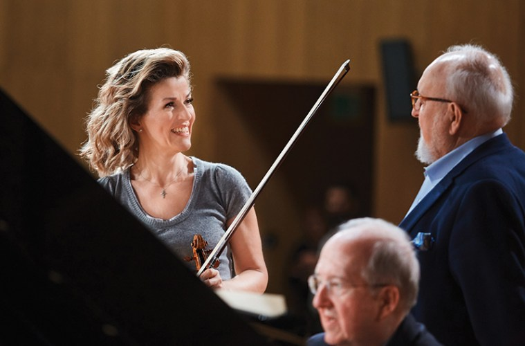 Violinist Anne-Sophie Mutter on her latest album Hommage à Penderecki and personal connection with Penderecki's music