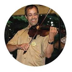 Violinist Nicholas Martin